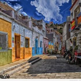 Calle San Antonio, Barrio Santa Cruz, Alicante 1