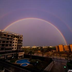 Doble Arco Iris-Alicante