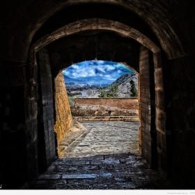 Entrada al Castillo de Santa Barbara 7