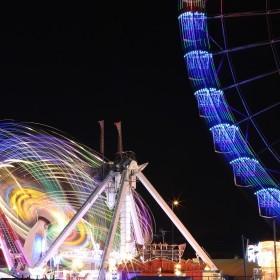 Feria de Alicante desde la UA.