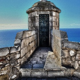 Garita de la Campana, Foso del Castillo de Santa Barbara 2