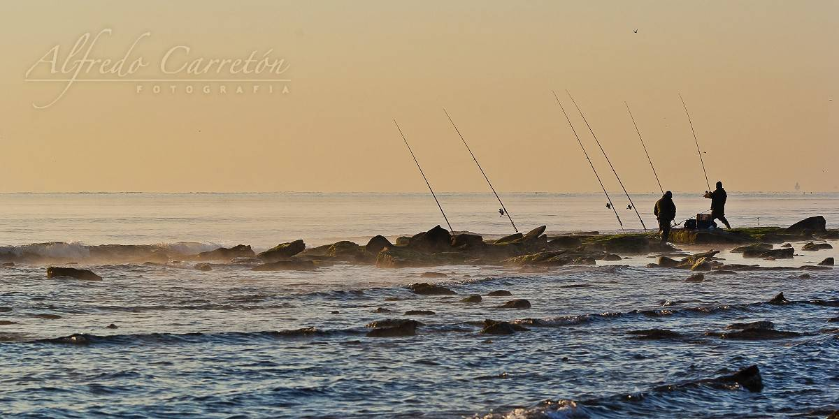 Pescando amaneceres