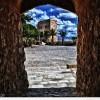 Salida de celda del Castillo de Santa Barbara 8