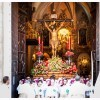 Santisimo Cristo del Mar saliendo de la Basilica de Santa Maria