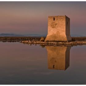 Torre de Tamarit, salinas de Santa Pola